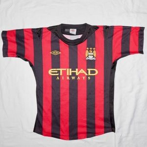 2011-2012 Manchester City Umbro Jersey